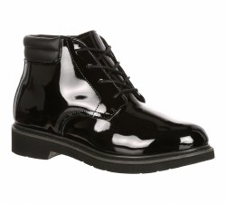 Men's Dress Leather High Gloss Chukka