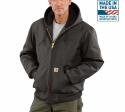 Men's Duck Active Jac/Quilted Flannel Lined