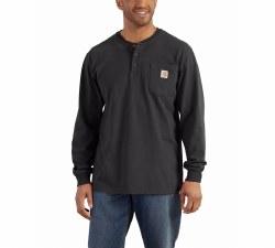 Men's Long Sleeve Workwear Henley
