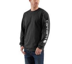 Men's Long-Sleeve Graphic Logo T-Shirt