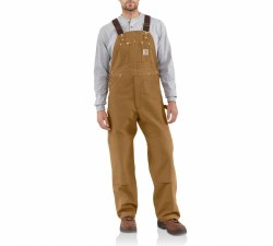 Men's 102776 (R01) Unlined Duck Bib Overalls
