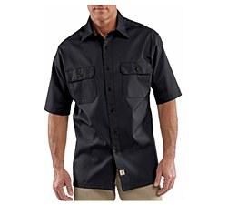 Men's Short-Sleeve Twill Work Shirt