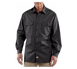 Men's Long-Sleeve Twill Work Shirt