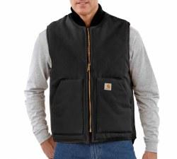Men's Duck Vest/Arctic Quilt Lined