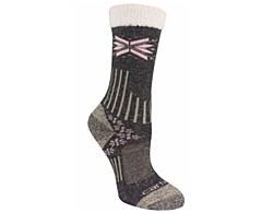 Women's Snowflake Sherpa Cuff Graduated-Compression Boot Sock