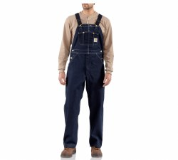 Men's Denim Bib Overall-Unlined