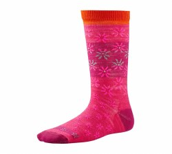 Girls' Daisy Dot Crew Socks