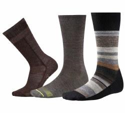 Men's Trio Socks  Large