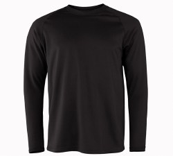 Men's Military Fleece Long-Sleeve Crew