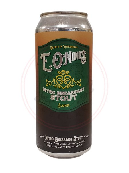 E O'nines Breakfast Stout
