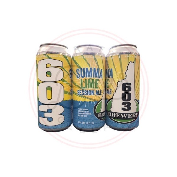 Summalime Session Ale - 16oz