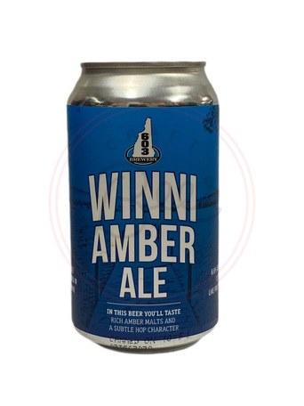 Winni Amber - 12oz Can
