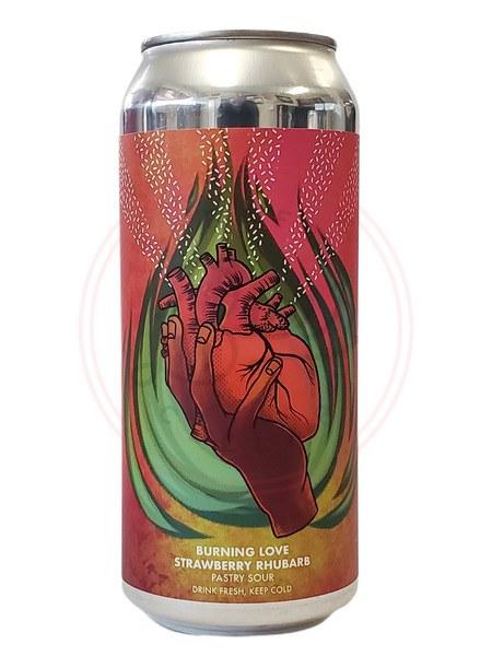 Burning Love: Straw-rhubarb