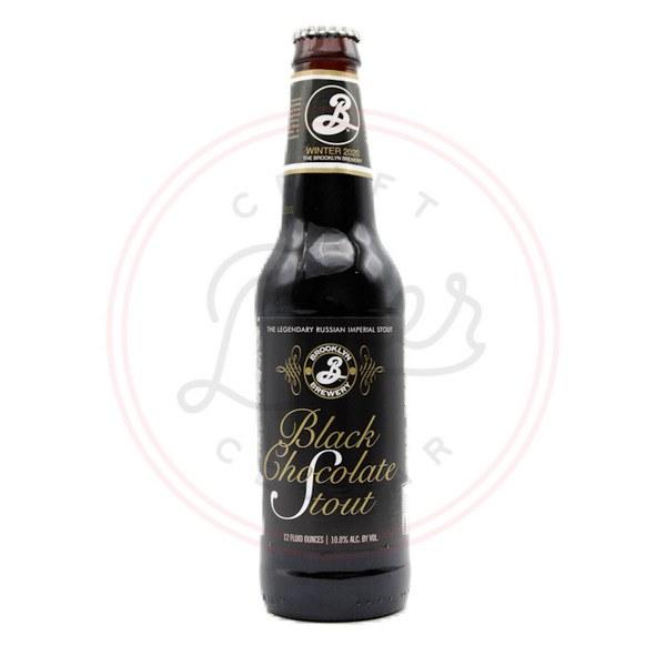 Black Chocolate Stout - 12oz