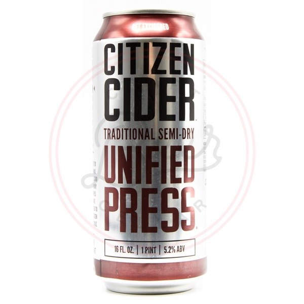 Unified Press - 16oz Can