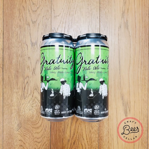 Gratuity Pale Ale - 16oz Can
