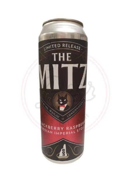 Mitz Black Raz- 19.2oz Can