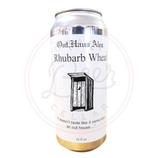 Rhubarb Wheat - 16oz Can
