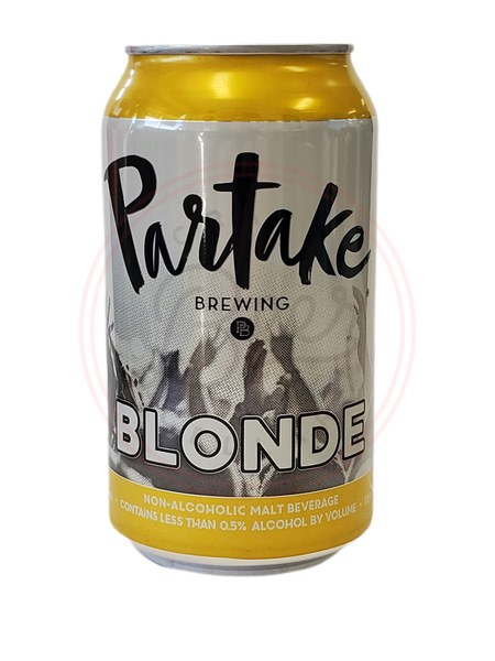 Partake N/a Blonde - 12oz Can
