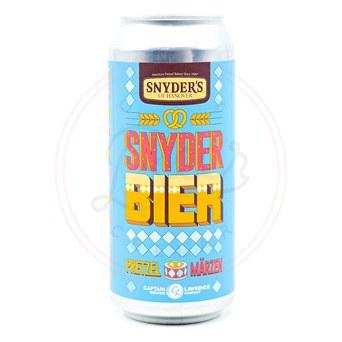 Snyder Bier - 16oz Can