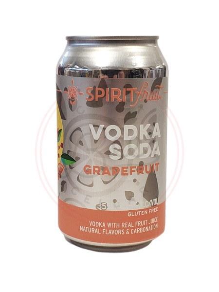 Grapefruit Vodka Sodka