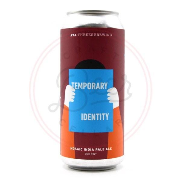 Temporary Identity - 16oz Can