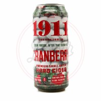1911 Cranberry - 16oz Can