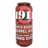 1911 Maple Bourbon Aged