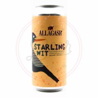 Starling Wit - 16oz Can