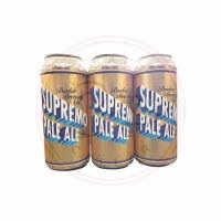 Supremo Pale Ale - 16oz Can