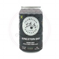 Kingston Dry - 12oz Can