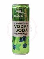 Blueberry Shrub Vodka Soda