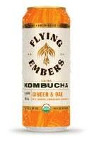 Ginger & Oak Kombucha - 16oz