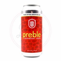 Preble Raspberry - 16oz Can