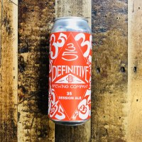 Definitive 35 Session Ale – 16