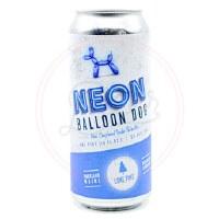 Neon Balloon Dog - 16oz Can