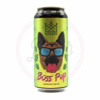 Boss Pup - 16oz Can