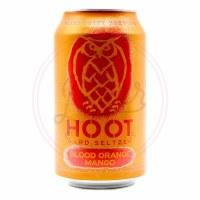 Hoot: Blood Orange - 12oz Can
