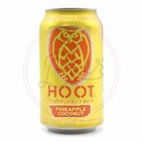 Hoot: Pineapple Coconut