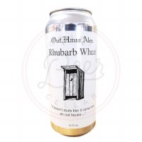 Rhubarb Wheat - 16oz Can