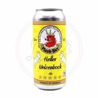 Plank Heller Weizenbock Ale