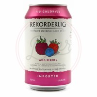 Wild Berries - 330ml Can