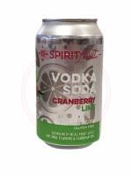 Cranberry Lime Vodka Sodka