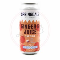 Ginger & Juice - 16oz Can