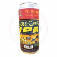 Gold Civic - 16oz Can