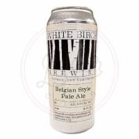 Belgian Style Pale Ale