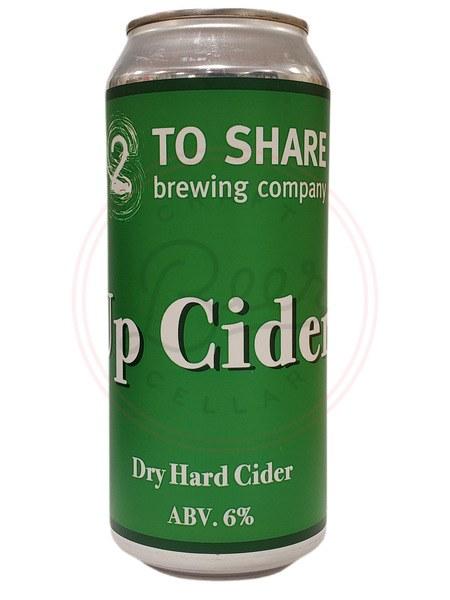 Up Cider - 16oz Can