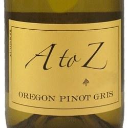 A to Z Oregon Pinot Gris 2015 750 ml