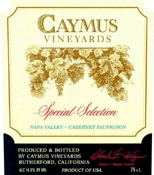 Caymus Special Selection Cabernet Sauvignon 2015 (750 ml)
