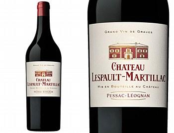 Chateau Lespault-Martillac Pessac-Leognan Rouge 2010 (750 ml)